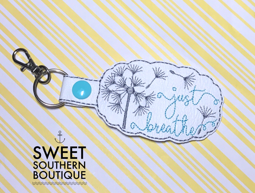 Just breathe keyfob
