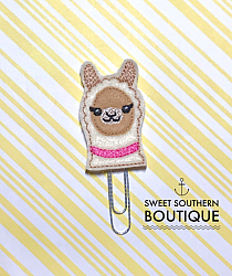Llama planner paperclip clip-paperclip paper clip felt feltie planner band book journal calendar checkbook flag note notes books bookmark book mark Erin Condren inkwell Kikki K Filofax happy planner mambi create 365 pen kate spade horse pony unicorn horsey cowboy cowgirl barn farm face peeker