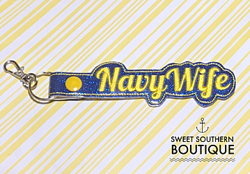 Navy Wife keyfob-Key Fob Keyfob Military camo camouflage navy marine army air force coast guard wife spouse husband girlfriend fiance hot pink gold turquoise keychain chain wristlet coastie spouse mom mother gift surface ship sailor submarine submariner chief chiefs chiefs keychain key chain ring gifts idea ideas favor frg family readiness group fundraiser bag tag backpack tag badge reel clip id holder clasp swivel season support the troops troop red friday